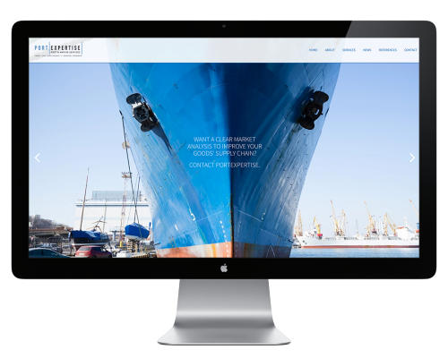 Portexpertise website laten maken
