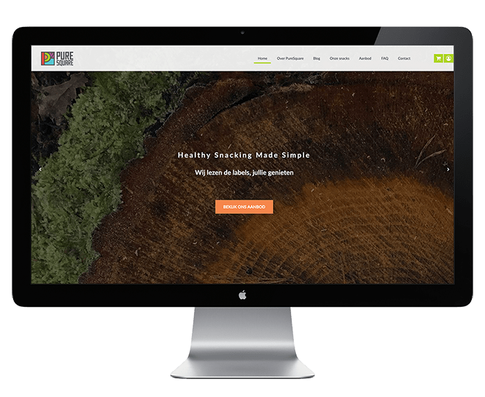 Webshop laten bouwen Pure Square
