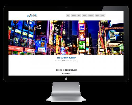 Website laten maken Slide Events